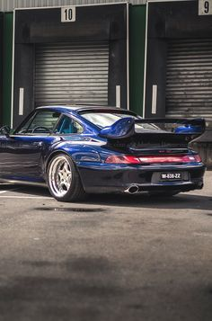 #Porsche 993 GT2, looking slick. #SportsCar #Speed #Power #Style #Design