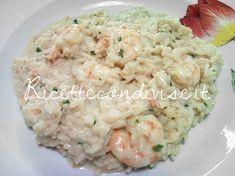 Ricetta Risotto con gamberoni e salmone di Teresa Mastandrea