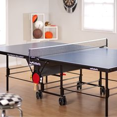 Butterfly Blue Playback Rollaway Table Tennis Table