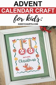 Are you excited for our new advent calendar craft? We've decided to bring it to you after our Christmas countdown calendar. Kids are surely gonna love it. Buy and gift it!