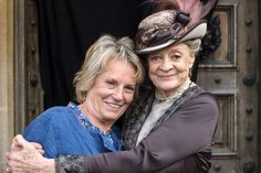 Downton Abbey Christmas Day special: Exclusive pictures from behind the scenes as Maggie Smith and co film finale