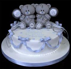 002743 Sugarpaste Bears Christening Cake.jpg 826×800 pixels