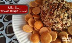 White Lights on Wednesday: Better Than...Cookie Dough Cheeseball