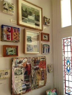 Displaying and hanging textile art - practical advice for hanging textile art ... aims to help you display your work as successfully as possible. http://www.textileartist.org