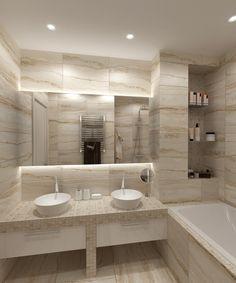 Ванная комната современная. Ванная