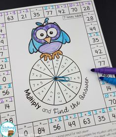 Have your 3rd grade class practice their multiplication facts from 0 times to 12 times with this set of multiplication games. Perfect for learning the times tables.