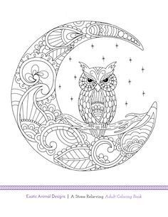 Another free adult coloring book page! Exotic Animal Designs is going to be release this week on Amazon and through www.bluestarcolor…. Simply, print, color, and relax! If you love this image, make sure to check back later this week for the full book release!