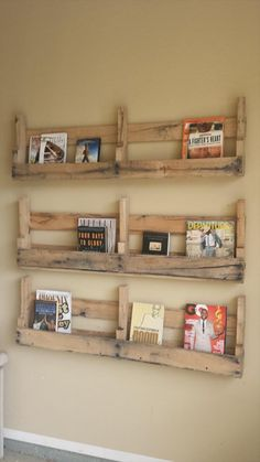 DIY Pallet Wall Shelf | Wooden Pallet Furniture