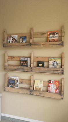 DIY Pallet Wall Shelf | Wooden Pallet Furniture