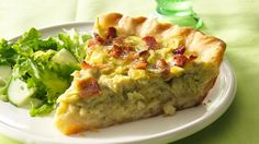 Just five main ingredients go in an easy Pillsbury® unroll-and-fill pie crust, and homemade quiche is ready to pop in the oven.