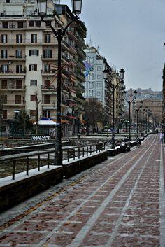 Thessaloniki,Greece Greek Isles, Theme Background, Macedonia, Athens, Places To Visit, Street View, City, Uni Life, Travel