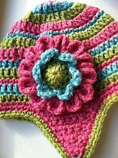 """Crochet Flower """"Dahlia ~ free pattern"""