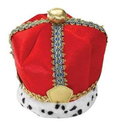 Complete your medieval king costume with this red Velvet King Crown. The plush crown features a velvet finish and a spotted faux fur brim, perfect for Halloween, plays, Renaissance faires and costume parties year-round. Buy Costumes, Costume Shop, Adult Costumes, Halloween Costumes, Costume Hats, Costume Ideas, Halloween Decorations, Paper Chains, Halloween Costume Accessories