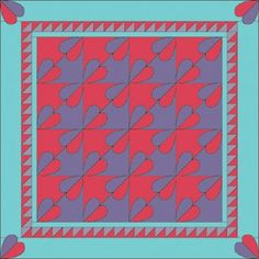 """TLC Home """"Give and Take Wedding Quilt Pattern"""""""