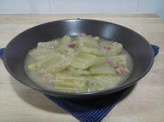 Cardo con jamón para #Mycook http://www.mycook.es/receta/cardo-con-jamon/