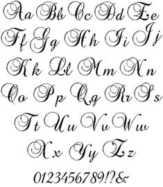 veralawsonenjoy - 0 results for cursive alphabet Cursive Tattoo Letters, Calligraphy Letters Alphabet, Tattoo Fonts Alphabet, Tattoo Fonts Cursive, Hand Lettering Alphabet, Cute Letter Fonts, Cool Cursive Fonts, Script Fonts, Alphabet Cursif