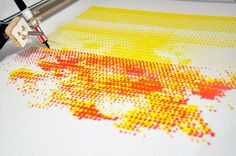 "Arduino-Controlled Robot ""Paints"" Like Georges Seurat"