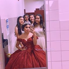 Sweet 16 Outfits, Sweet Sixteen Dresses, Sweet 16 Dresses, 15 Dresses, Ball Dresses, Pretty Dresses, Beautiful Dresses, Mariachi Quinceanera Dress, Burgundy Quinceanera Dresses