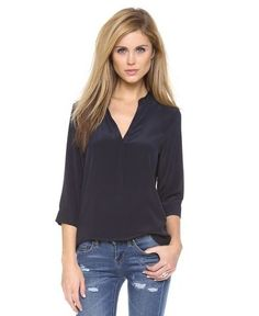Professionelle: Joseph Skinny Placket Blouse