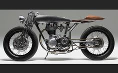 The *insanely talented* Max Hazan of Hazan Motorworks, the man who puts meta into metal, sculpture into motion with sublime, single-handed sureness, has given the Musket motor the honor of being the power-plant in his next creation.