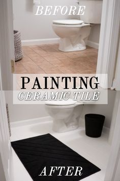 How to Paint Your Ceramic Tile Floor – KELSEY GONDER