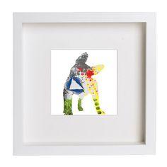 Collage digital Cat & Dog de Poppy Girl Illustrations por DaWanda.com