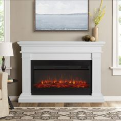 247 best electric fireplaces images in 2019 fake fireplace rh pinterest com