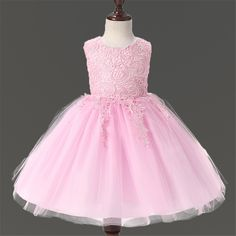 High Quality White First Communion Dresses For Girl Tulle Lace Infant  Toddler Pageant Flower Girl Dress 44ed696344c0