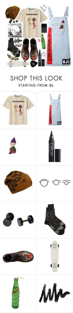 """Sin título #1368"" by meelstyle ❤ liked on Polyvore featuring Retrò, Au Jour Le Jour, CARGO, Maria Black, Issey Miyake, Dr. Martens, ...Lost and Gibson"