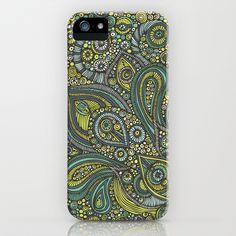 Blue safari iPhone & iPod Case by Valentina Harper - $35.00