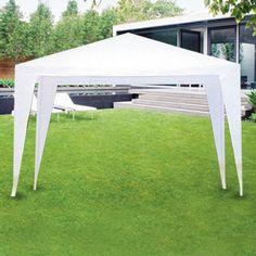 gazebo pergola giardino in ferro 3x2 mt telo copertura bianco per arredo esterno arredo. Black Bedroom Furniture Sets. Home Design Ideas