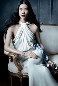 Michael Thompson Shoots Liu Wen, Doutzen Kroes, Karen Elson and More for Tiffany & Co. Spring 2013 Campaign | Fashion Gone Rogue