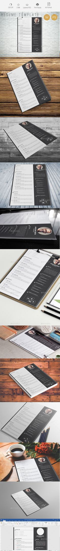Resume\/CV Resume cv, Font logo and Logos - font for resumes