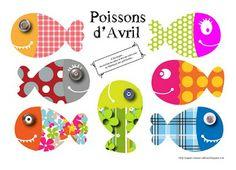 Nurvero; La vie en classe Poisson d'avril ! A imprimer