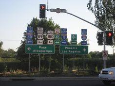 Flagstaff Arizona (been here! Turned  left n went to arboretum, wonderful time in AZ. Love it!)