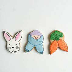 3 ways to use our bunny cookie cutter from Patti Paige @bakedideas