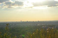 Autumn Sunset from Ridge Hill, Stalybridge