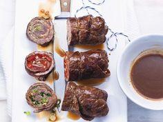 Rinderrouladen ist ein Rezept mit frischen Zutaten aus der Kategorie Rind. Probieren Sie dieses und weitere Rezepte von EAT SMARTER!
