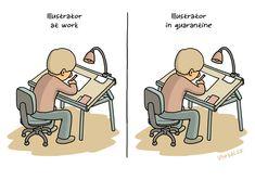 coronavirus,quarantine,illustrator,cartoonist,work