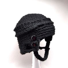 NEED!! This will compliment my baby's devils jersey so nicely!!!  Hockey Baby Skater Helmet Hat Newborn Size on Etsy