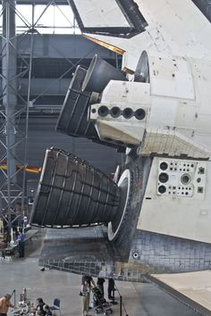 Discovery's Main Engines