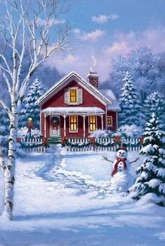 Little red cottage...