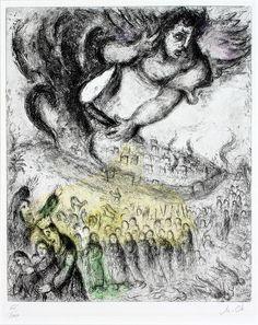 Marc Chagall, The Capture of Jerusalem