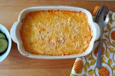 One of our favorites! Buffalo Chicken Dip! This recipe uses Greek yogurt, mayo, and dry ranch seasoning instead of bottled ranch like I usually use.