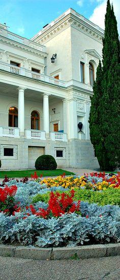 Livadia Palace - Crimean Summer home of Czar Nicholas II and family