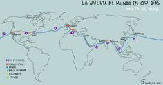 Novelistik | Julio Verne y la vuelta al mundo en 80 libros Day, Books, English, Design, Socialism, Children's Literature, The World, Travel Maps, Jules Verne