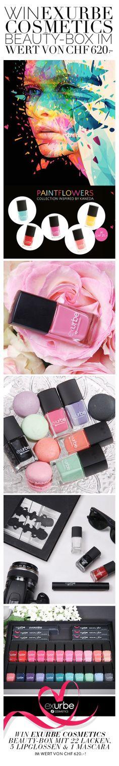 Win «exurbe cosmetics» Beauty-Box im Wert von CHF 620.–!