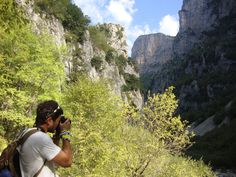 Explore Outside | Explore Zagori Hiking Trips, Grand Canyon, The Outsiders, Greece, Most Beautiful, Explore, Nature, Travel, Greece Country