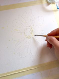 Application of masking fluid