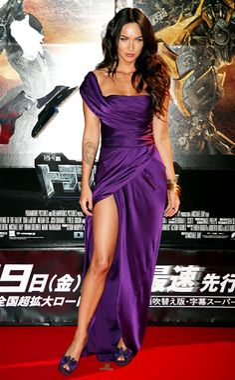 Plum Perfect from Megan Fox's Best Looks | E! Online